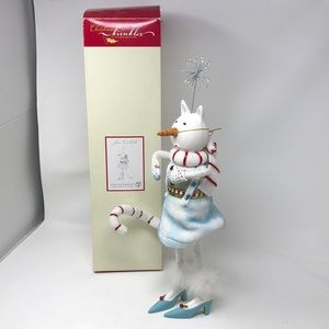 DEPT 56 CHRISTMAS KRINKLES SNOW CAT DOLL